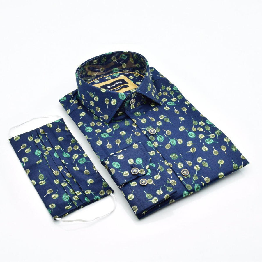 Colossal Resolve Slim Fit Shirt - ZANE FASHION