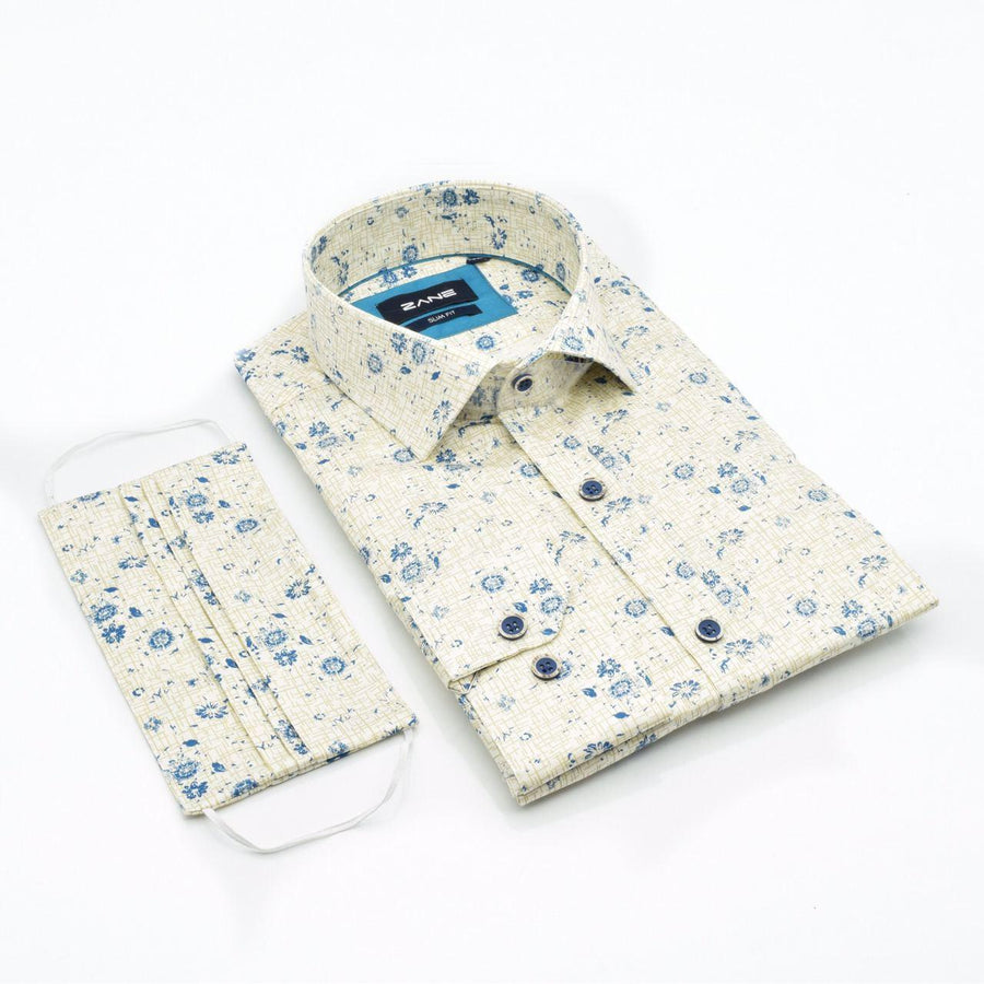 Paradise Desire Slim Fit Shirt - ZANE FASHION
