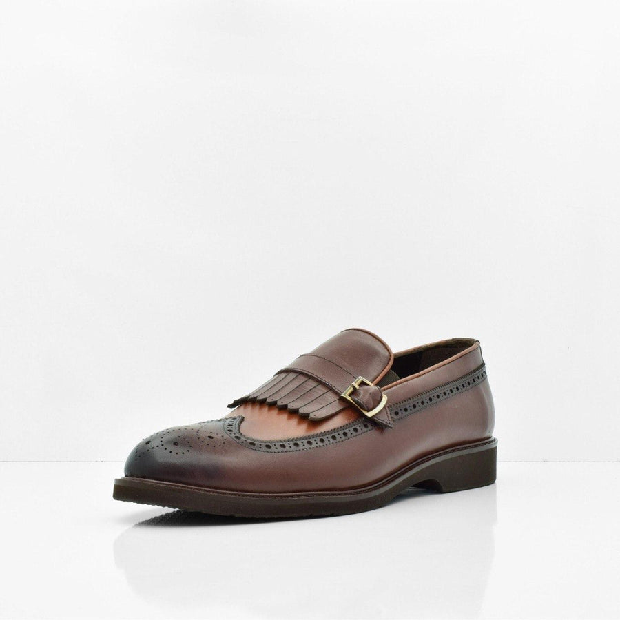 Harrison Brown Leather Shoes