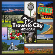 Load image into Gallery viewer, Traverse City Reusable Tote Bag