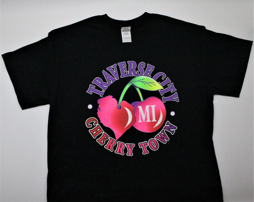 Traverse City Cherry Town T-Shirt
