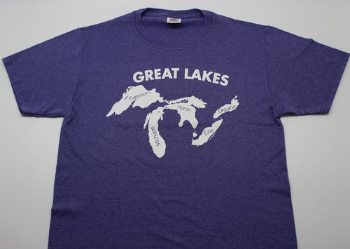 Great Lakes w/ Names T-Shirt