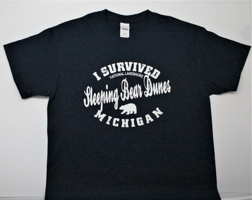 I Survived Sleeping Bear Dunes T-Shirt