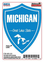 Load image into Gallery viewer, Great Lakes State Shield