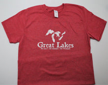 "Load image into Gallery viewer, Great Lakes ""No Salt, Shark, Worries"" T-Shirt"