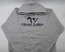 "Load image into Gallery viewer, Great Lakes ""No Salt, Sharks, Worries"" Pullover Hoodie"