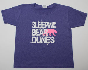 Sleeping Bear Dunes Kids T-Shirt