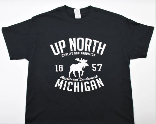 Up North Michigan Moose T-Shirt