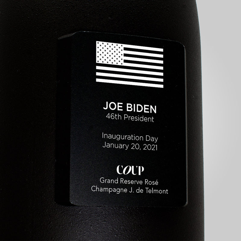 Inauguration Day Commemorative Bottle