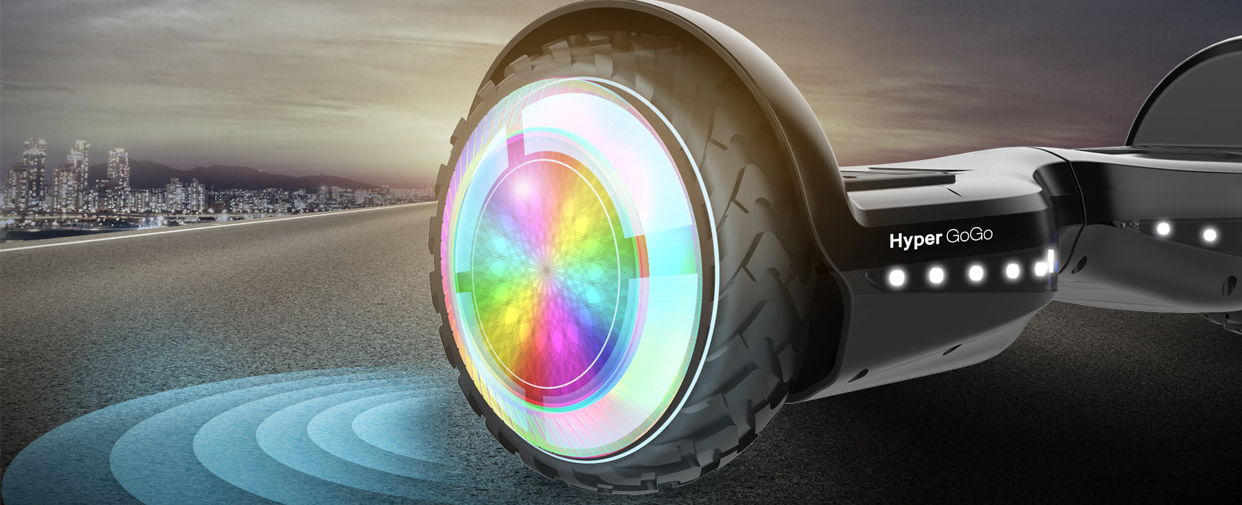 LED Wheels Hoverboard