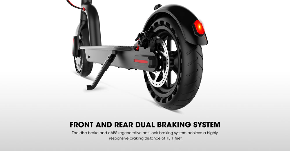 Dual braking system -Efficient, sensitive front and rear dual braking system disc brakes