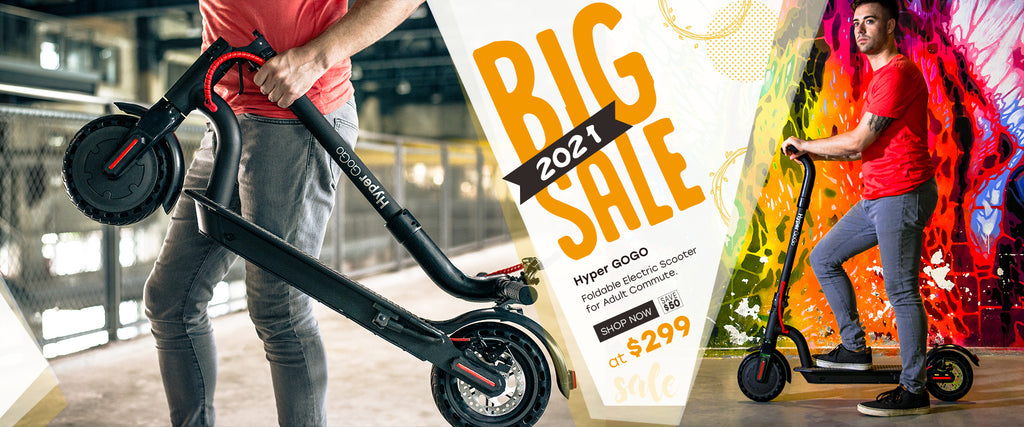 Hyper GOGO Foldable Electric Scooter