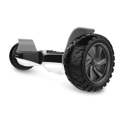 Black and White Hoverboard 8.5 inch All-terrain Big Wheel Electric Smart Hoverboard