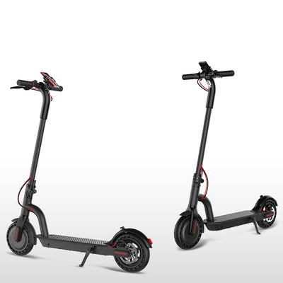 "Folding Electric Scooter for Adults 8.5"" Off Road Foldable Electric Commuter Scooter -17.4MPH - 12.4 Mile Range"