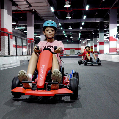 Red Kids Go Kart - Red Go Kart - Double Fun