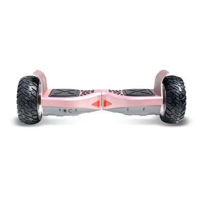 Rose Gold Hoverboard 8 5 Quot Off Road Wheels Electric Self Balancing Scoo Hyper Gogo Hoverboard
