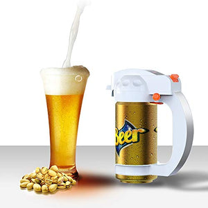 Micro-foam Beer Dispenser for Canned Beer 330ml/500ml (White) - Beer Lovers Paradise