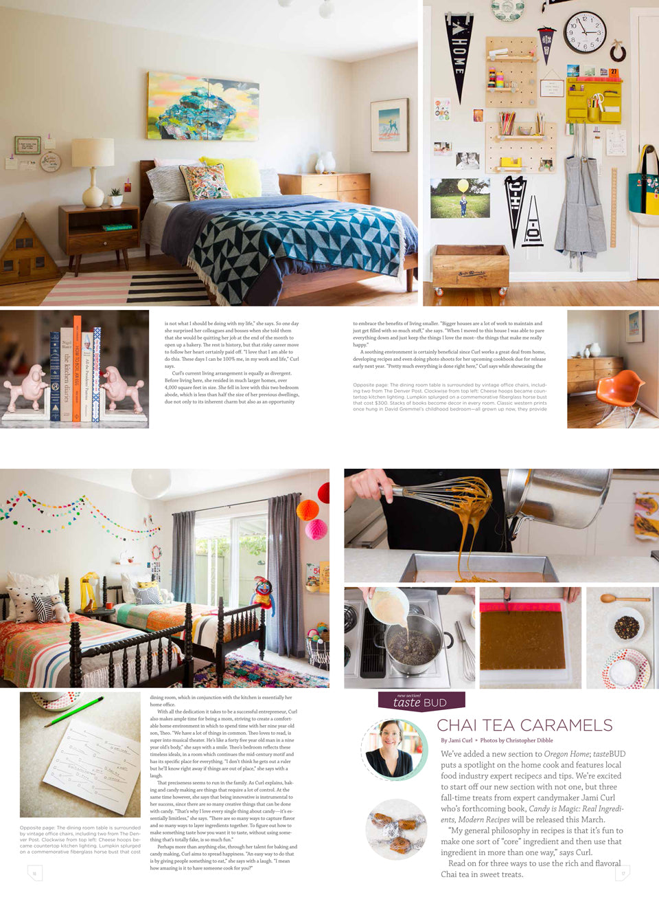 Oregon Home | Jami Curl Photo Shoot with Woonwinkel