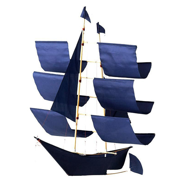 Sailing Ship Kite Indigo