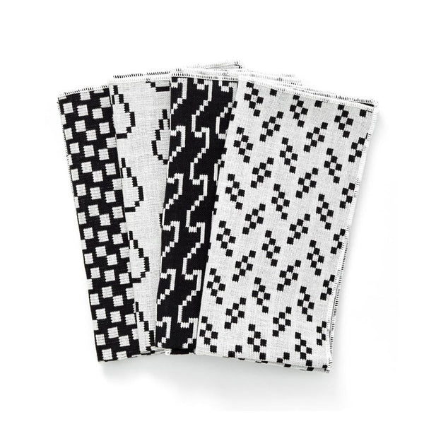 Bitmap Napkins Black and White