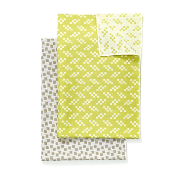 Bitmap Tea Towels Bits and Static Colors