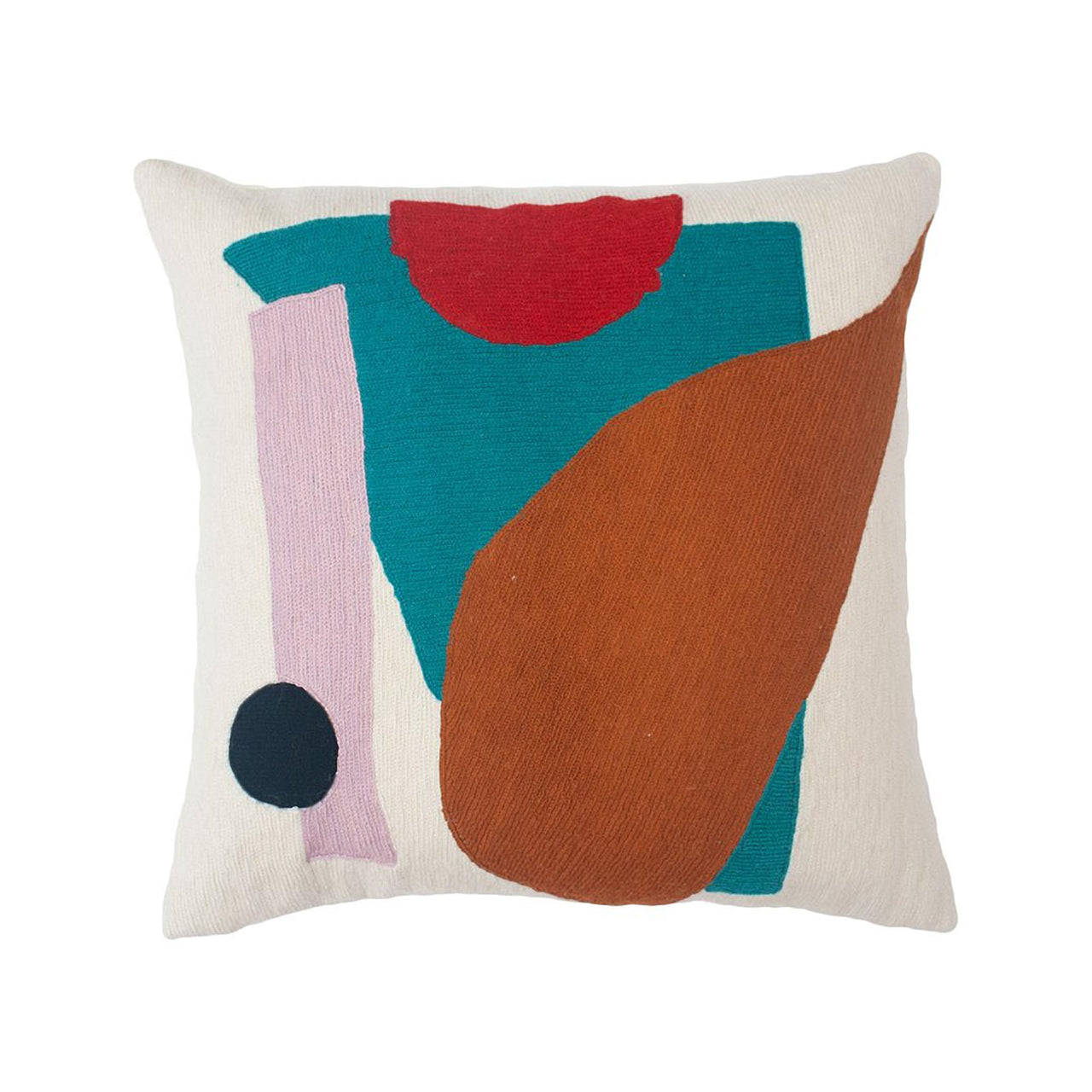 Blah Blah Shapes Pillow