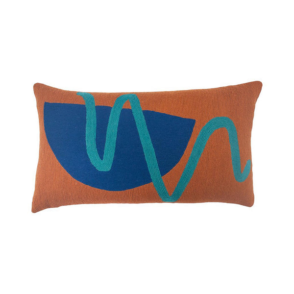 Blah Blah Squiggle Pillow