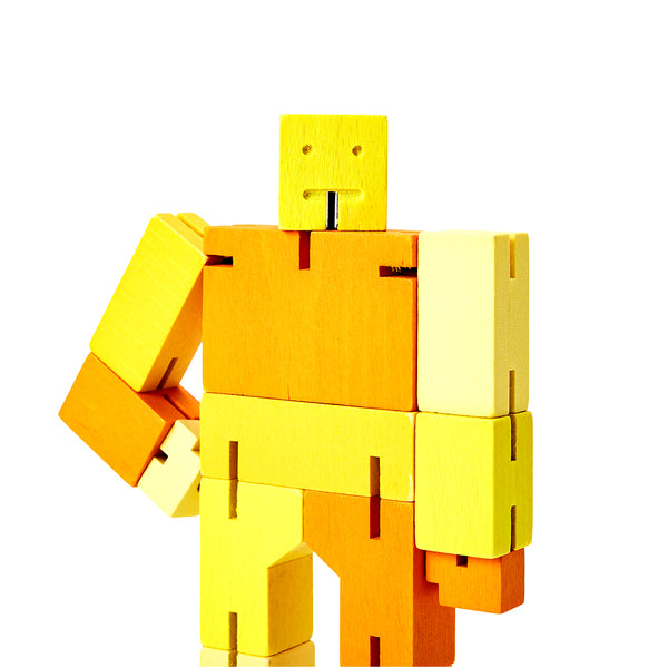 Cubebot Yellow Multi