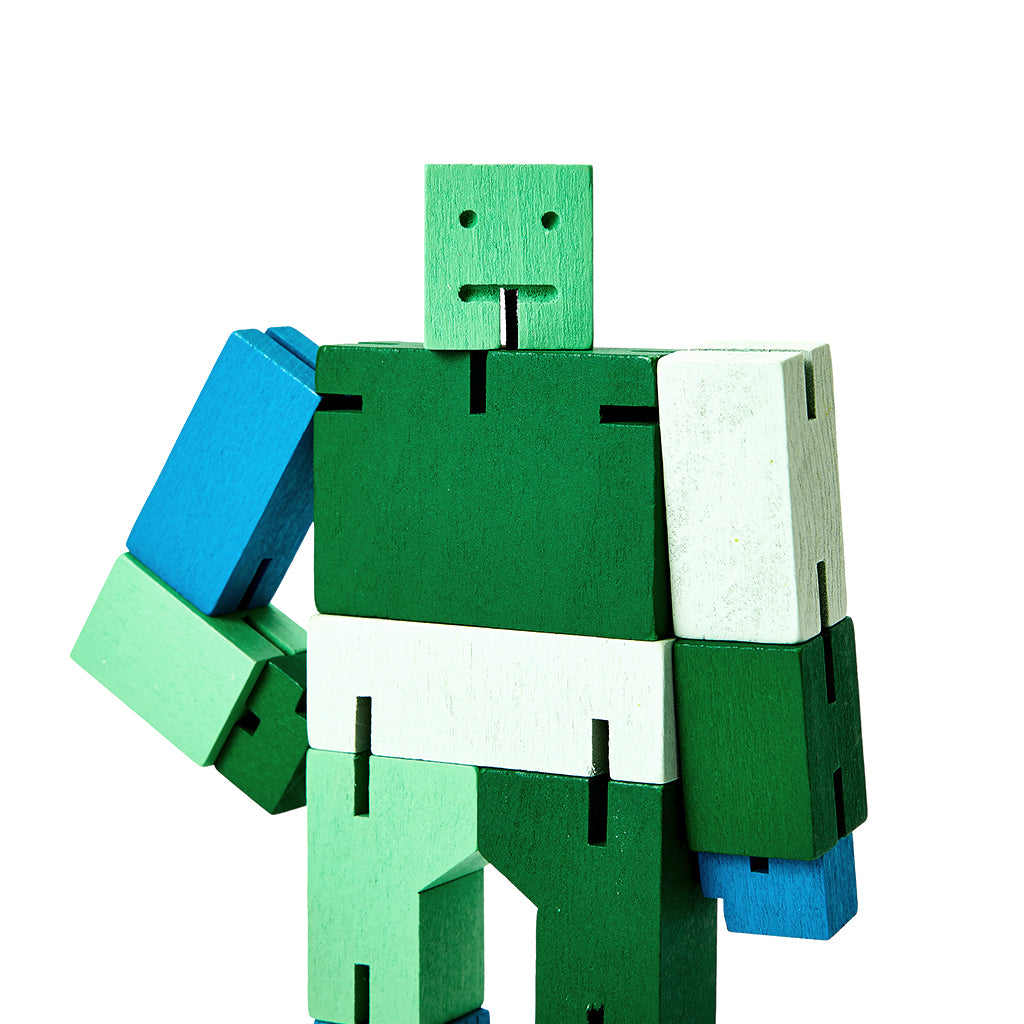 Cubebot Green Multi
