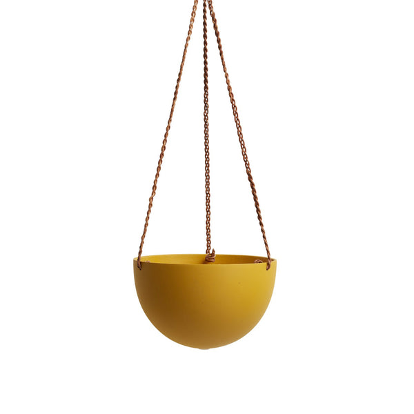 Dome Hanging Pot - Golden Block