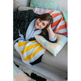 Knit Throw Stripe