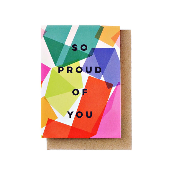 Card - So Proud of You