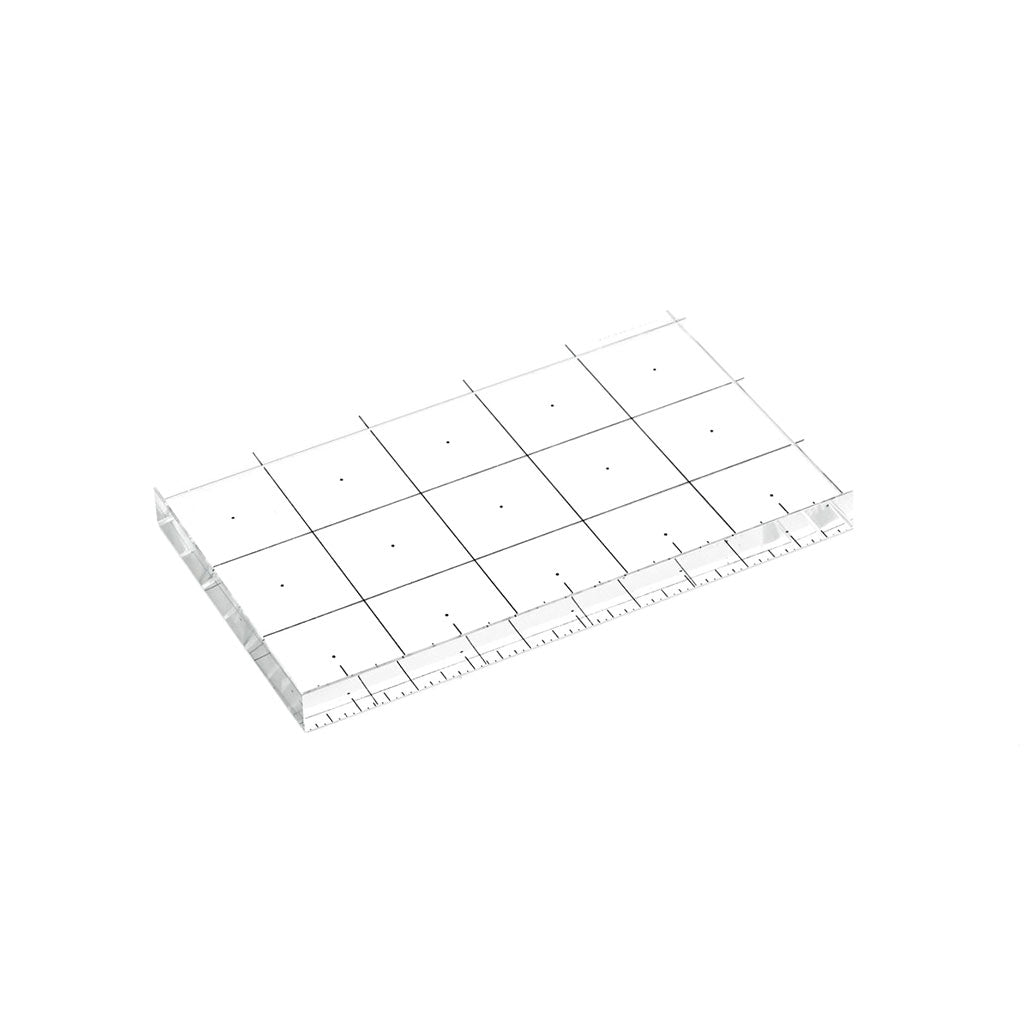 Glass Ruler Inch
