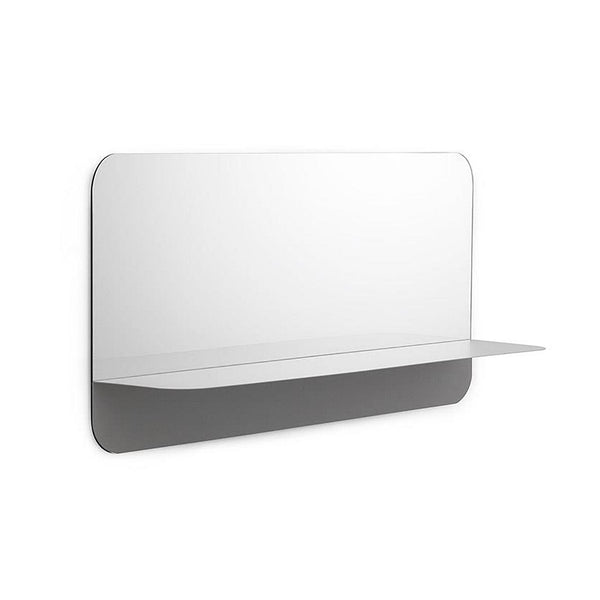 Horizon Mirror Horizontal - Grey