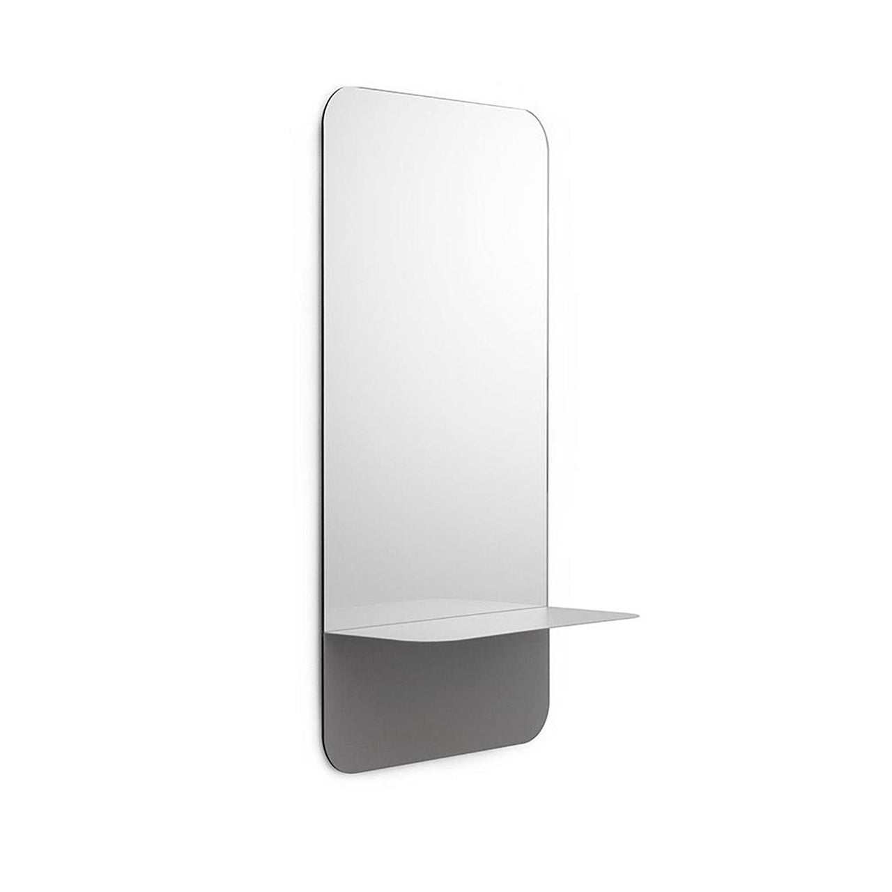 Horizon Mirror Vertical - Grey