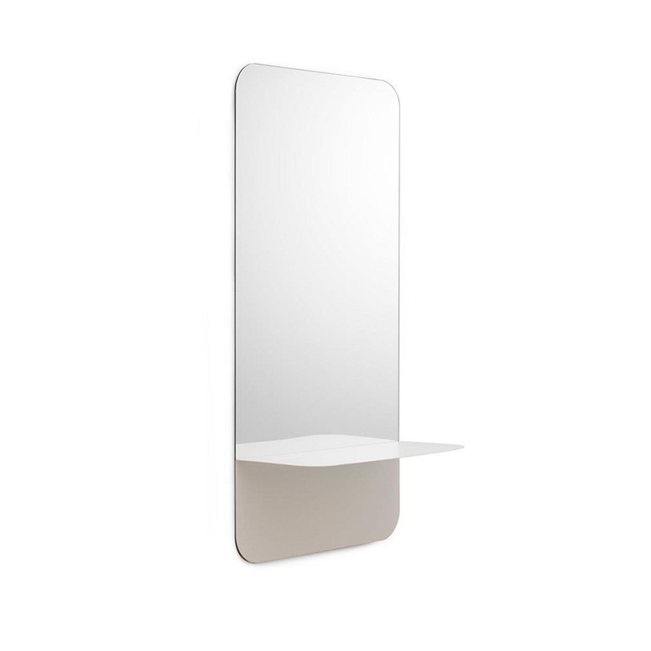 Horizon Mirror Vertical - White