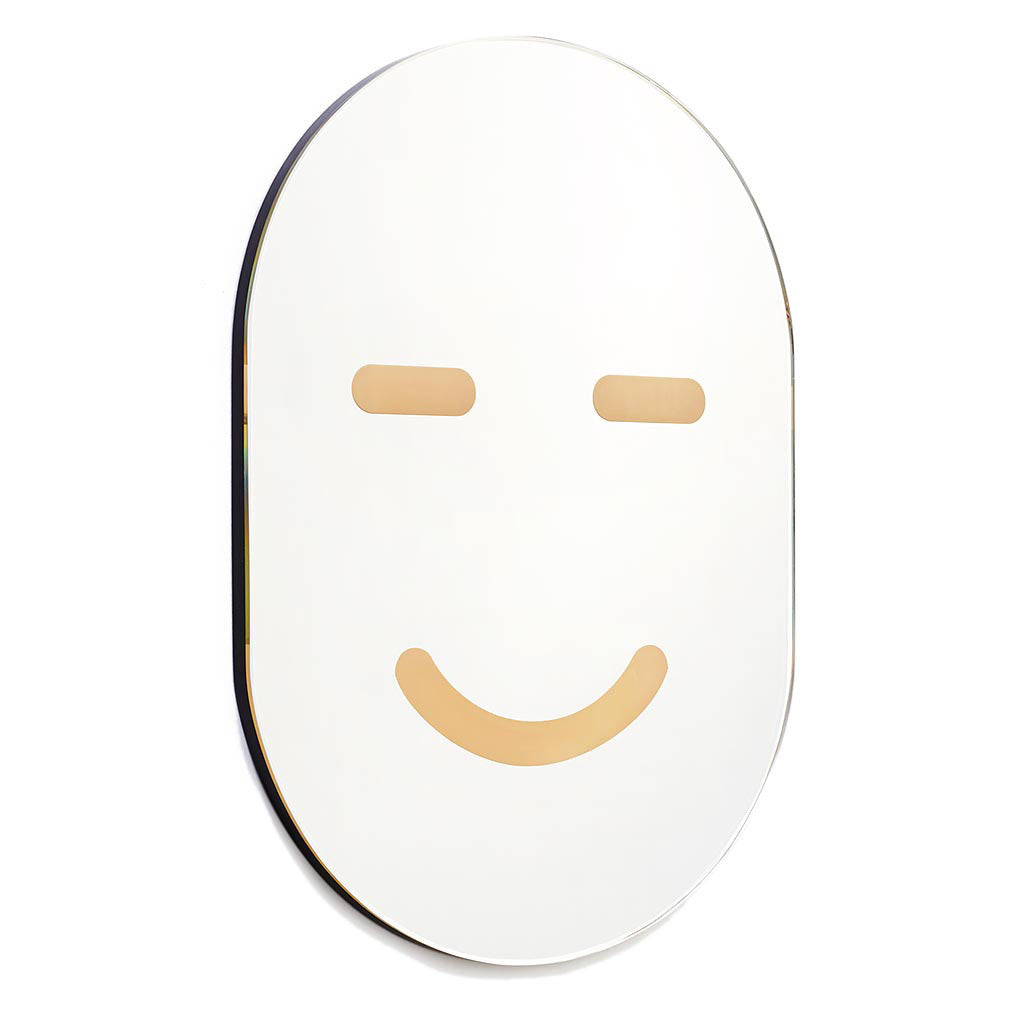 Smiling Mirror Mask