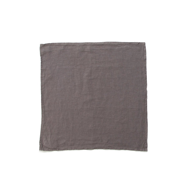 Simple Linen Napkin Dark Grey