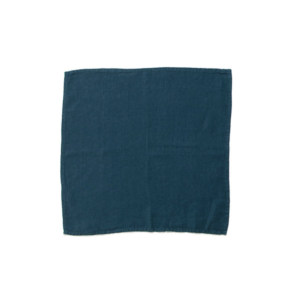 Simple Linen Napkin Peacock