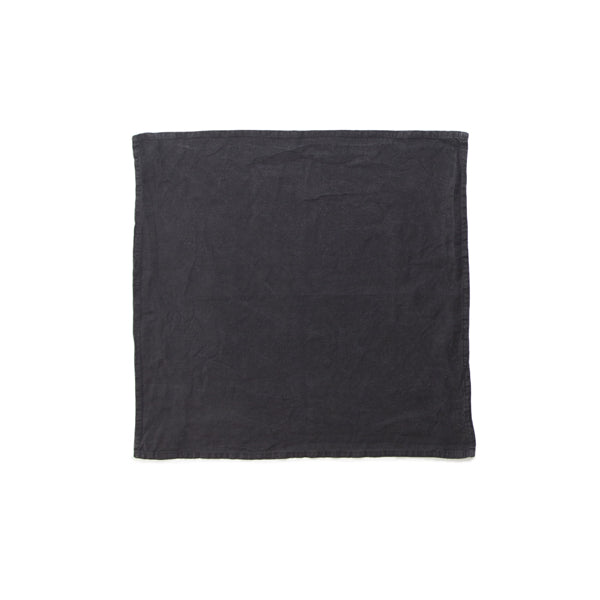 Simple Linen Napkin Black