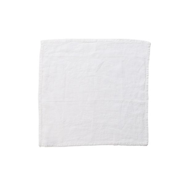 Simple Linen Napkin White