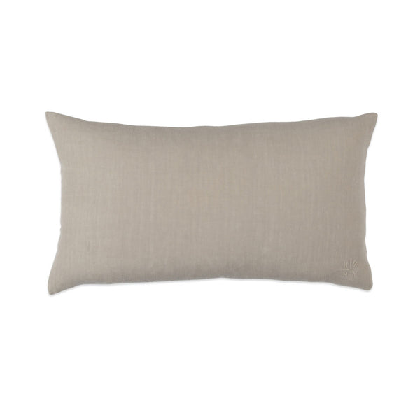 Simple Linen Bolster Flax