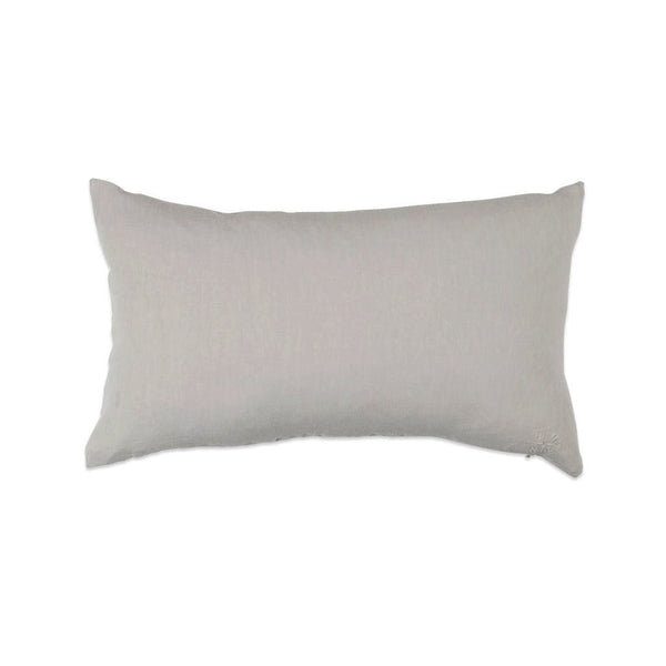 Simple Linen Bolster Light Grey
