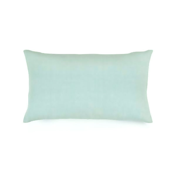 Simple Linen Bolster Pillow Sage