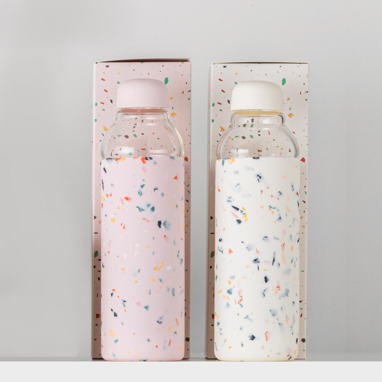 The Porter Glass Bottle Terrazzo-LE