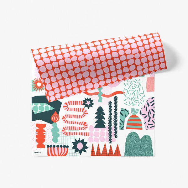 Wrapping Paper - Winterland
