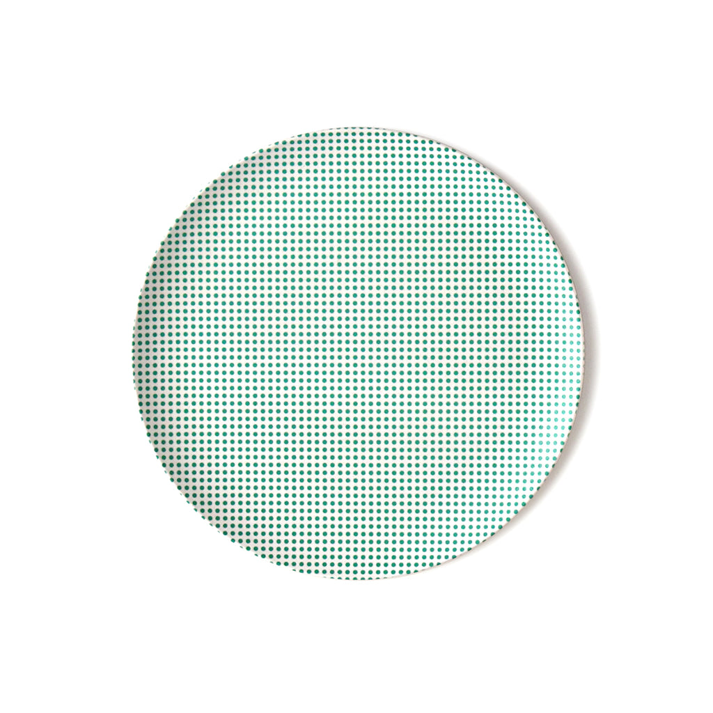 Pop Dot Bamboo Plate Small