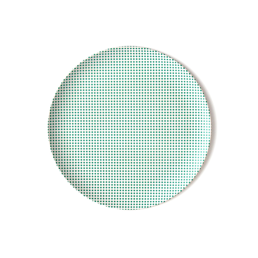 Pop Dot Bamboo Plate