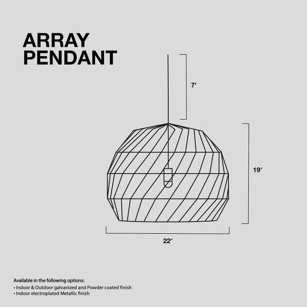 Array Pendant Chandelier
