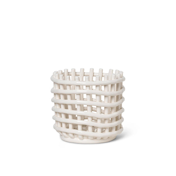 Ceramic Basket Small